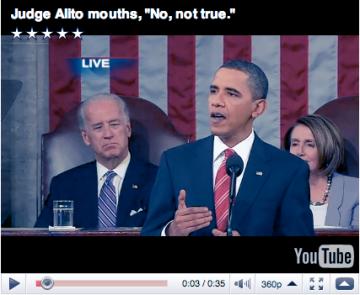 """Click for Alito """"Not True"""" moment"""